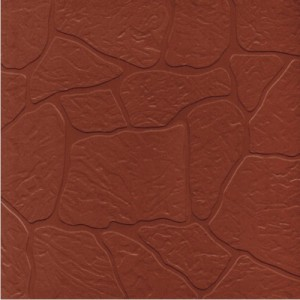Aukland - Plain Parking Floor Tiles - Stone Teracotta