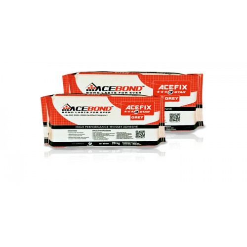 Acebond Tile Adhesive 3 Star - 30 kg pack (Roff Cement)