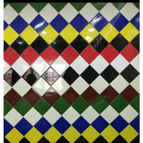 4 X4 Ceramic Wall Tile Solid Colors