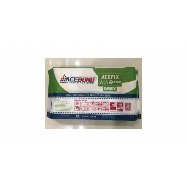 Acefix 7Star Grey Adhesive - (20 Kg Pack)