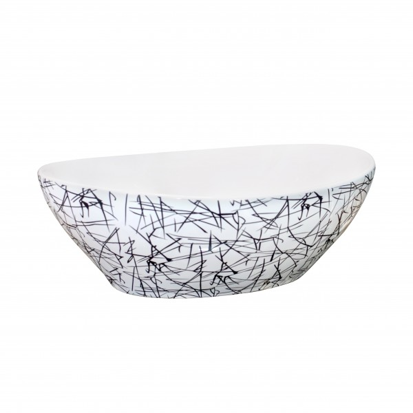 * New * Designer Table Top Wash Basin - 8033 K2 (410x330x140)mm