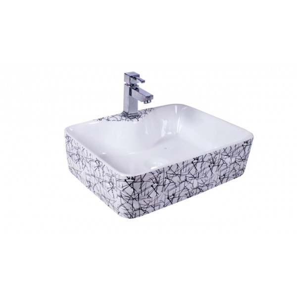 * New * Designer Table Top Wash Basin - 8057 K2 (480x380x135)mm