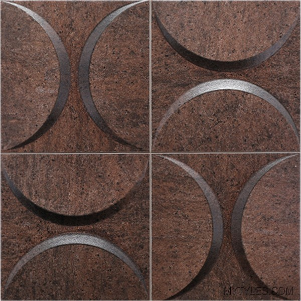 * Imported 3D Tile MGC Eclipse Copper 333x333 mm