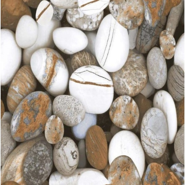 * New * 600x600mm Floor TIle - Natural Stone (Pebble )