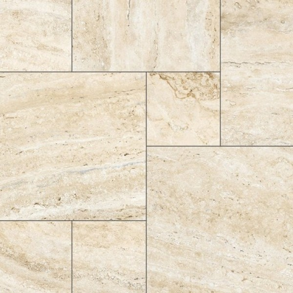 1000x1000 mm Imported Designer Wall and Floor Tile - adobe siena beige modular