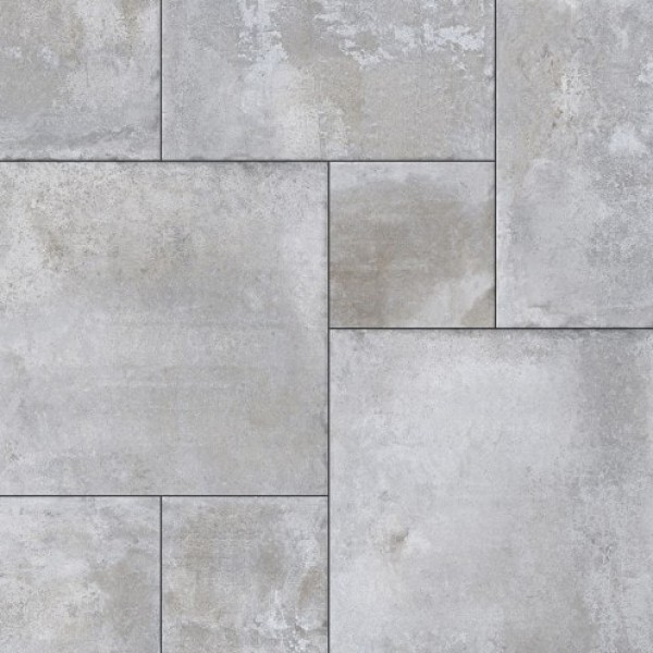 1000x1000 mm Imported Designer Wall and Floor Tile -Aadobe Silver Modular