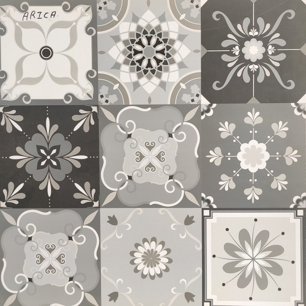 * 600x600mm Moroccan Tile Arica (Random Design)