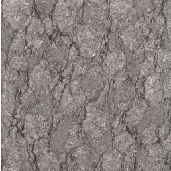 * 800x800mm Double Charge Vitrified Tile - Aura Nero Dark