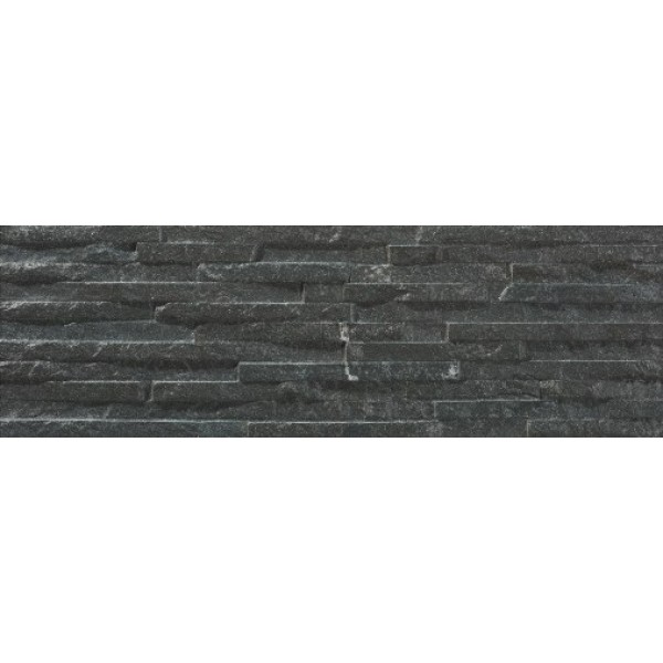 * New * 170x520 mm Imported Designer Wall Tile - Centenar Black