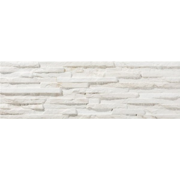 * New * 170x520 mm Imported Designer Wall Tile - Centenar White