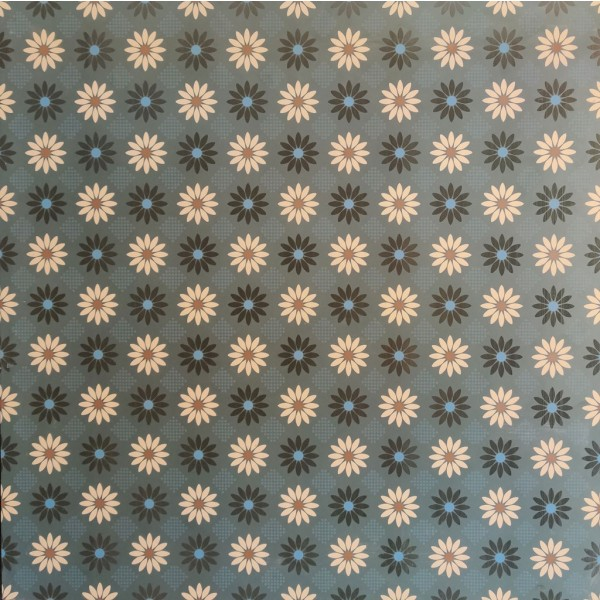 600x600 Morrocan Floor and Wall Tile - Heritage Fathom 61