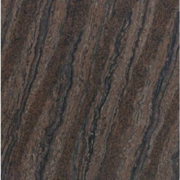* 800x800mm Double Charge Vitrified Tile - Rivera Choco Dark