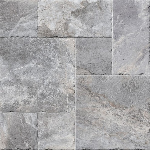 1000x1000 mm Imported Designer Wall and Floor Tile - Adobe Sanford Grey Modular
