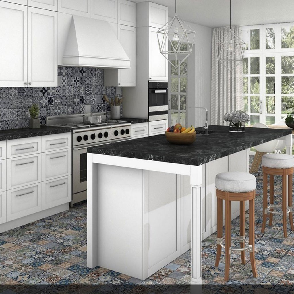 Imported designer wall tile 250x250mm Concept (Xerea-Color-Grey)