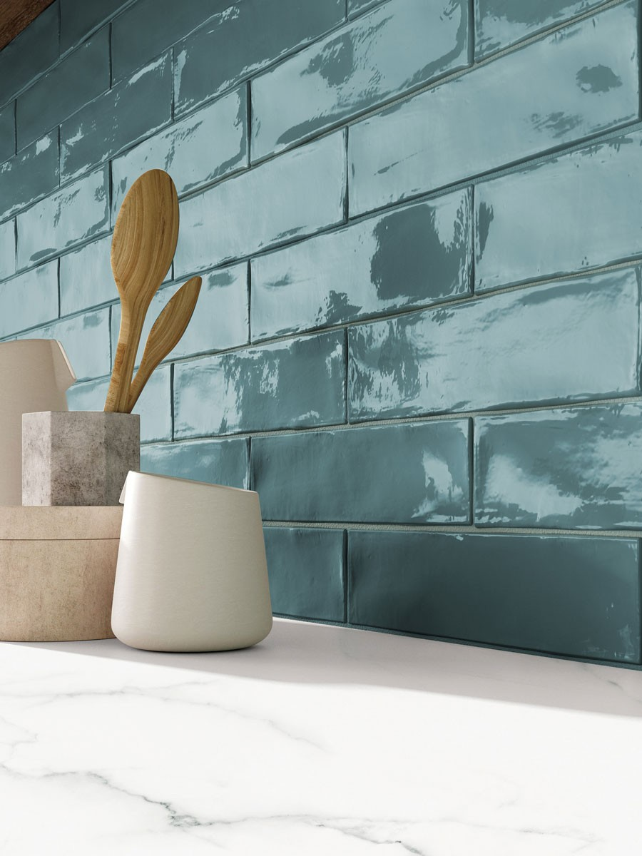 Imported Subway Tile MBC SW-05-Denim Concept 76x306 mm (Glossy)