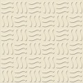 Aukland - Plain Parking Floor Tiles - Wavy Ivory