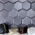 * Imported Wall Tile Cuna Grafito Mate Hexagon 150x170 mm