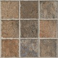 Orient Bell - Digital Parking Floor Tiles - Subway Brown