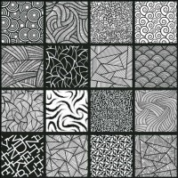 600x600mm Printed Floor and Wall Tile - 2505