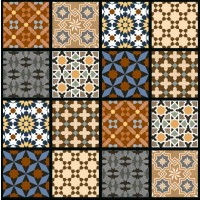 600x600mm Printed Floor and Wall Tile - 2508