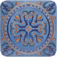 * Imported Octagon Tile MGC 5504 Decor 500x500 mm