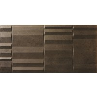333x666 mm Imported Designer Wall Tile - Bolsoi Bronce