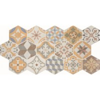 * New * 455x900 mm Imported Designer Wall Tile - Centauro Vintage Mix