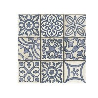 200x200 mm - Imported Tile - Duomo Monza Blue Mix
