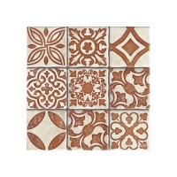 200x200 mm - Imported Tile - Duomo Monza Terra Mix