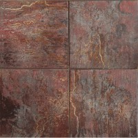 150x150 mm - Imported Tile - Latino Rosso