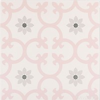 Imported Floor and Wall Tile - Dalia Rose - 10x10 Inch