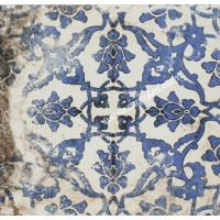 Imported Wall Tile Maioliche 2 Blu - 200x200 mm