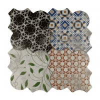Imported Wall and Floor Tile -  Riga Patchwork