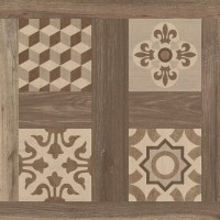 600x600 mm Imported Designer Floor and Wall Tile - Selandia Décor Noce