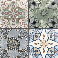 Printed Designer Imported Tile 250x250mm - Xerea Colors