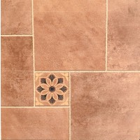 600x600 Floor and Wall Tile - Yeasty Brown