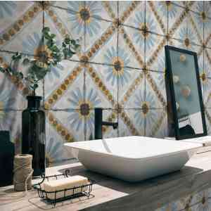 * New * Moroccan Tiles 200x200mm -DR 10