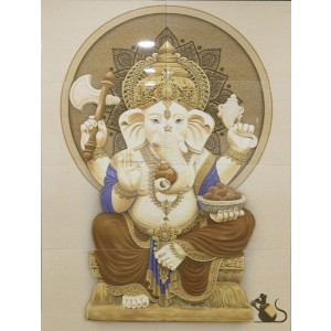 Poster Wall tile - God picture (Ganesha)