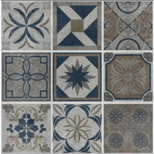 600x600mm Printed Floor and Wall Tile - 2510