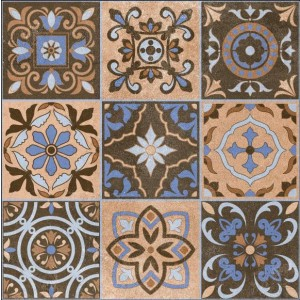 600x600mm Printed Floor and Wall Tile - 2512