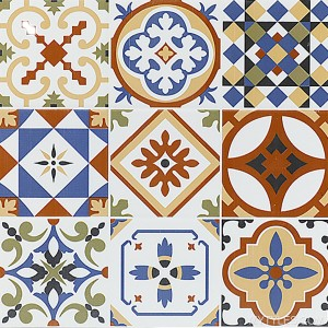 * 300x300mm Ceramic Moroccan Tile - 239