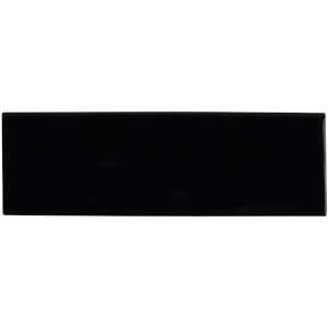 * 100x300mm Subway Tile - Black (4x12 inch)