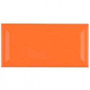* 100x200mm Ceramic Wall Tile - Orange