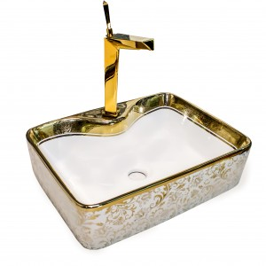 * New * Designer Table Top Wash Basin - 8057 CSG  (480x380x135)mm
