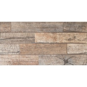 300x600mm Ceramic Wall Tile - Timber Wood Olive