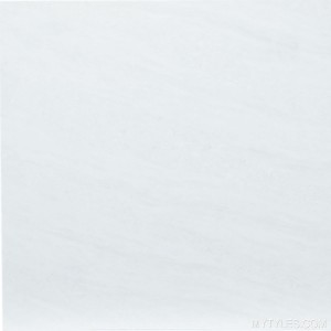 * 600x600mm Double Charge Vitrified Tile - ST Etro White