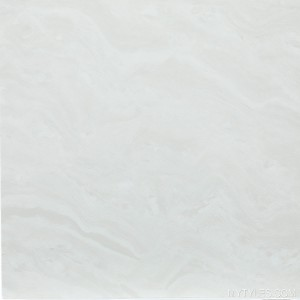 * 600x600mm Double Charge Vitrified Tile - ST ERA White