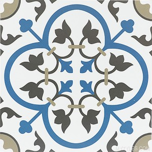* 300x300mm Moroccan Tile - 933 FL