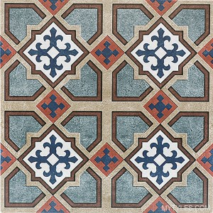 * 300x300mm Moroccan Tile - 957 FL