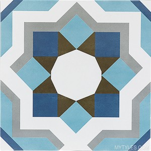 * 300x300mm Moroccan Tile - 960 FL